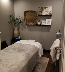 Massage Room Marysville Clinic